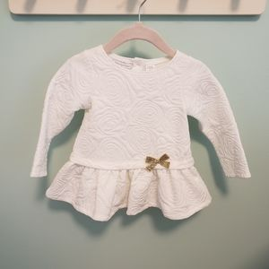 First Impressions Floral Baby Doll Dress